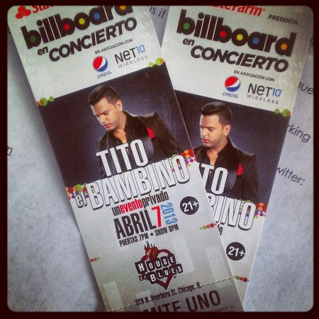 Tito El Bambino in concert